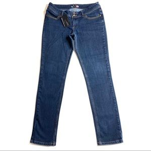 Boom Boom Jeans 11 Skinny Straight Blue EUC